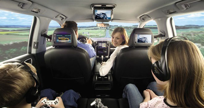 Pre-made headrest to custom headrest, in dash video to overhead monitors installations, we've done them all.